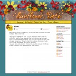 Sunflower Dots